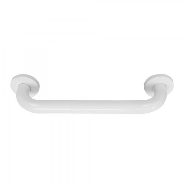 Agarradero bañera blanco inox 25x280 mm.