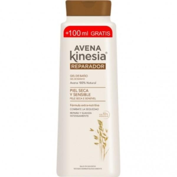 Avena kinesia gel de baño reparador de avena 600 + 100 ml.