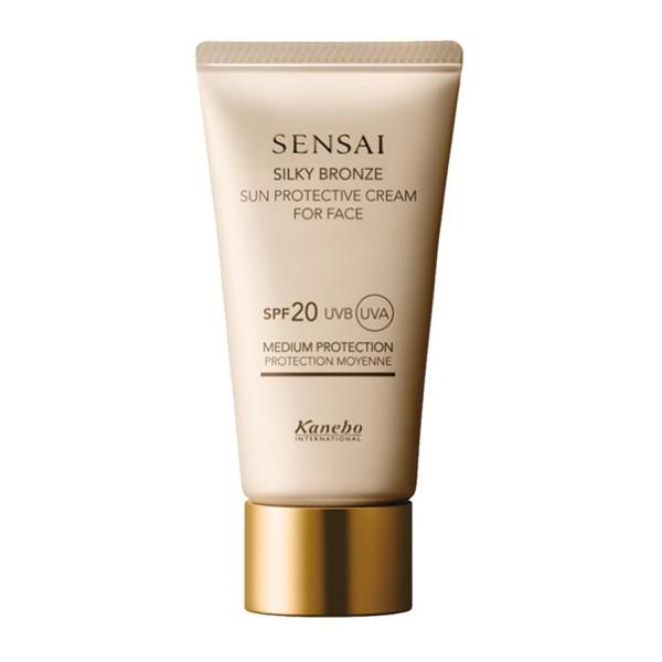 Kanebo sensai silky bronze sun cream spf20 50ml