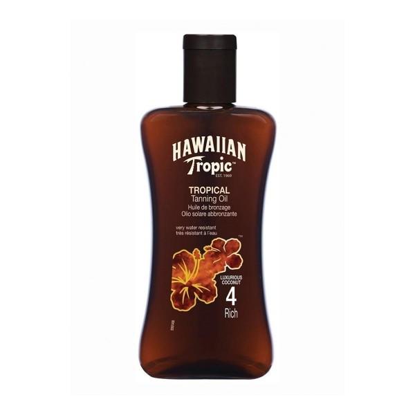 Hawaiian tropic tanning oil rich 200ml