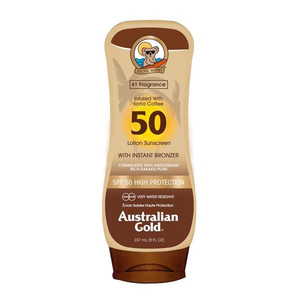 Australian gold bronzer locion spf50 237ml