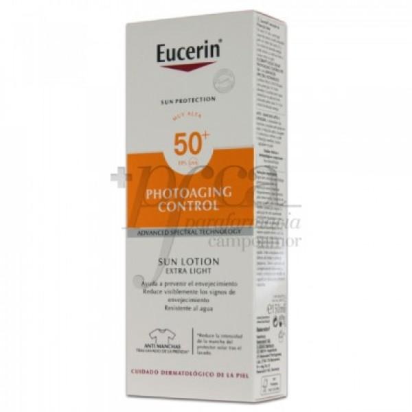 EUCERIN LOCION SOLAR EXTRA LIGERA SPF50 150ML
