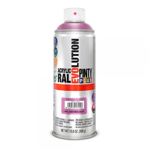 Pintura en spray pintyplus evolution 520cc ral 4001 rojo lila