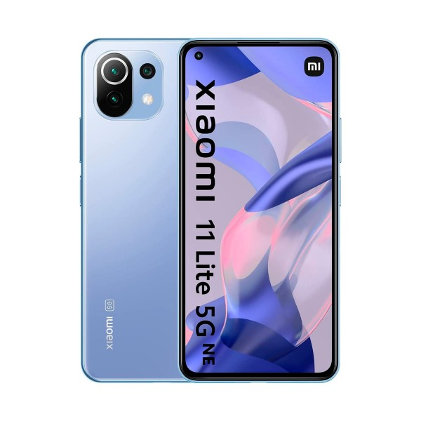 "Xiaomi mi 11 lite 5g ne azul (bubble blue) / 8+128gb / 6.55"" amoled 90hz / dual sim"