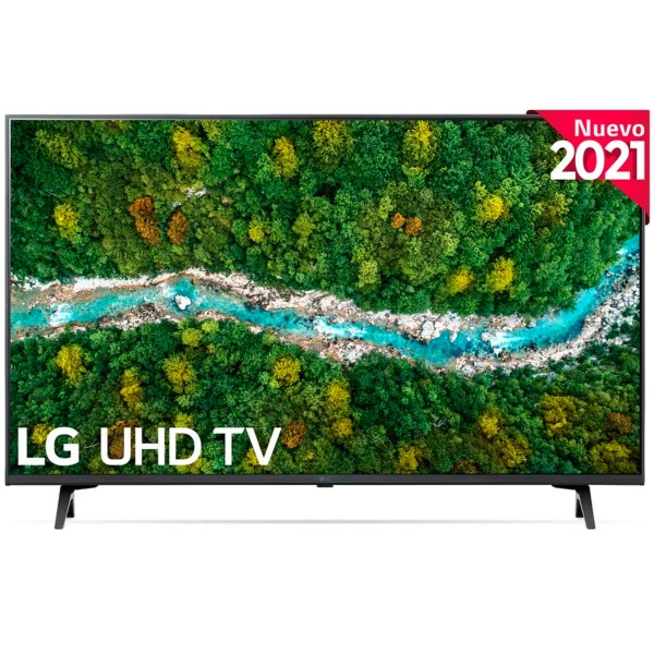 Lg 43up76706lb televisor smart tv 43'' uhd 4k hdr
